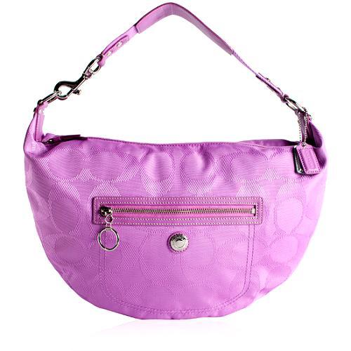 Coach Signature Daisy Hobo Handbag
