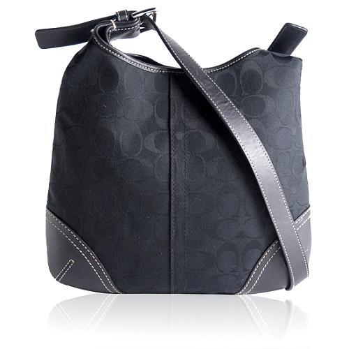 Coach Signature Duffle Handbag