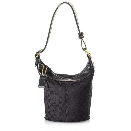 Coach Signature Duffle Shoulder Handbag