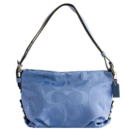 Coach Signature East/West Duffel Handbag