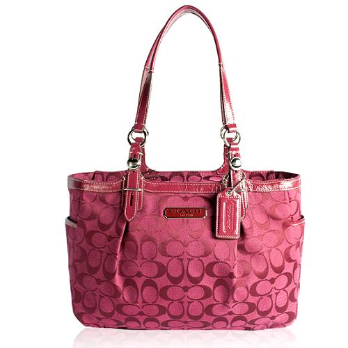 Coach Signature Gallery East West Tote