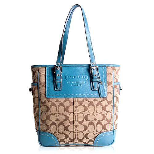 Coach Signature Gallery Lunch Tote