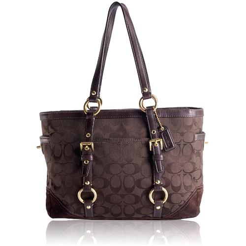 Coach Signature Gallery Tote
