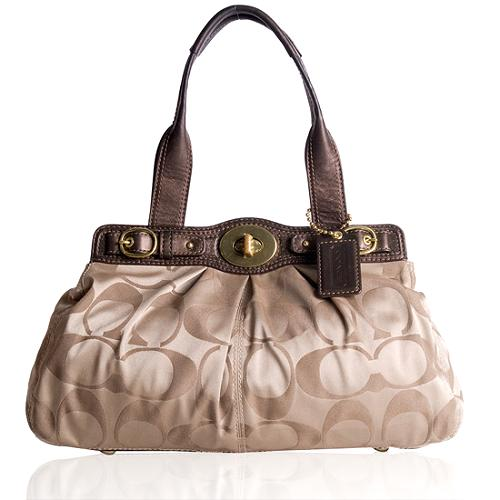 Coach Signature Satchel Handbag