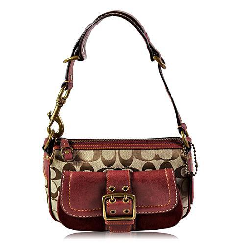 Coach Signature Small Shoulder Handbag