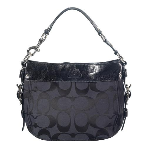 Coach Signature Zoe Medium Hobo Handbag