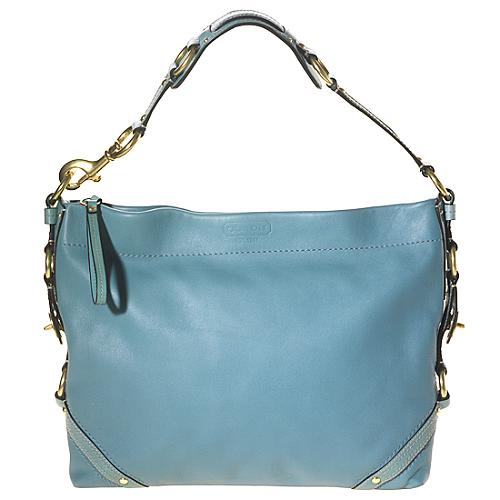 Coach Slim Carly Leather Hobo Handbag