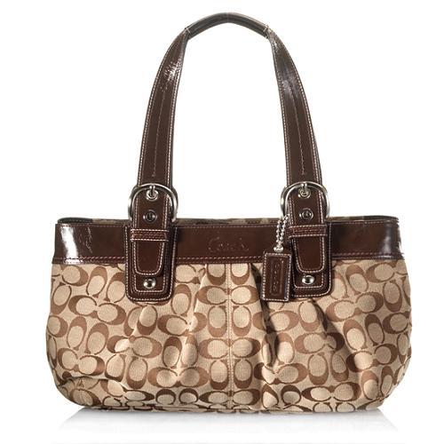 Coach Soho Large Peated Satchel Handbag