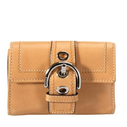 Coach Soho Leather Compact Wallet