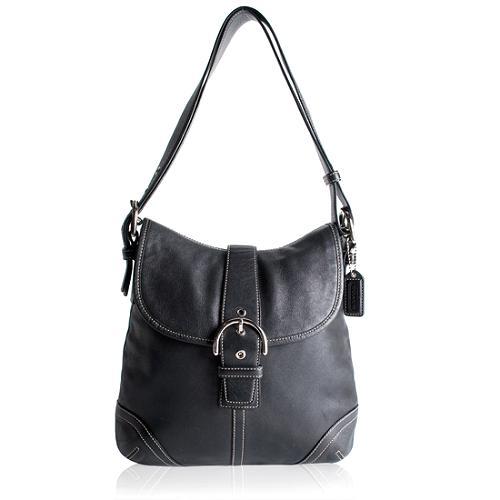 Coach Soho Leather Duffel Shoulder Handbag