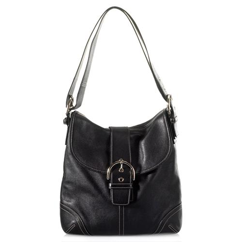 Coach Soho Leather Large Duffel Handbag