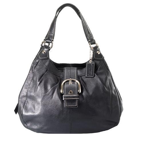 Coach Soho Leather Large Lynne Hobo Handbag