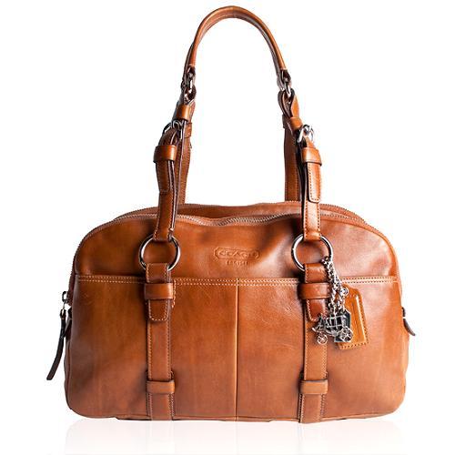Coach Soho Leather Large Satchel Handbag