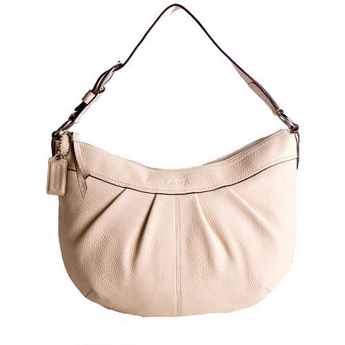 Coach Soho Leather Pleated Hobo Handbag