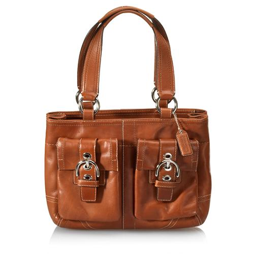 Coach Soho Leather Pocket Tote