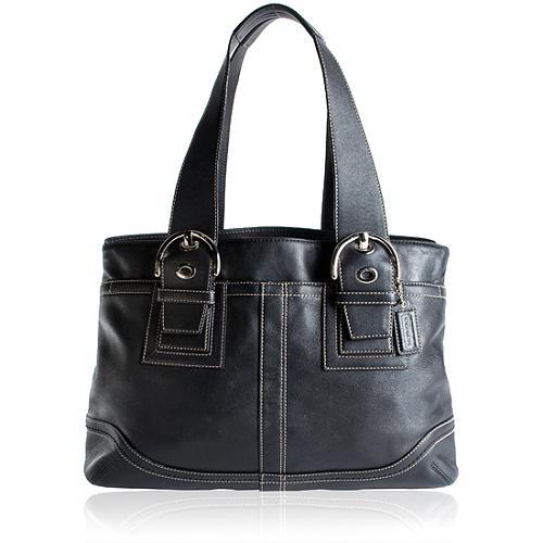 Coach Soho Leather Satchel Handbag