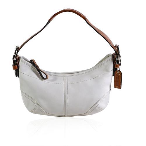 Coach Soho Leather Small Hobo Handbag