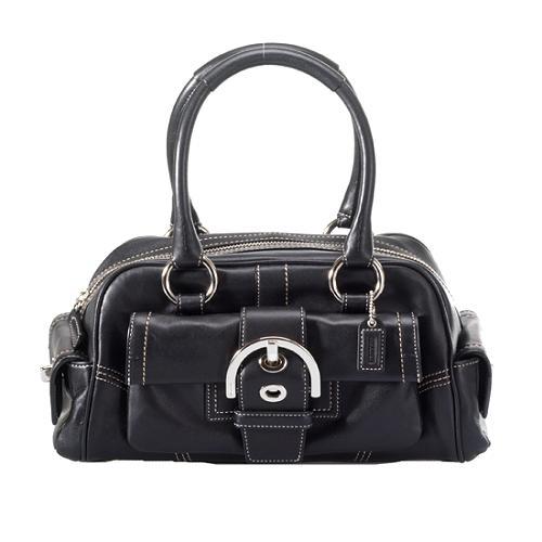 Coach Soho Leather Small Satchel Handbag