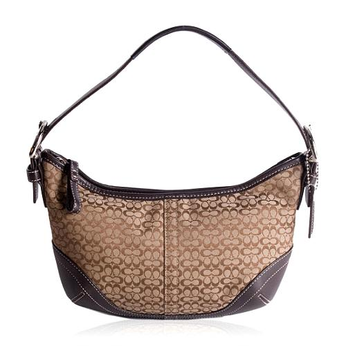 Coach Soho Mini Signature Hobo Handbag