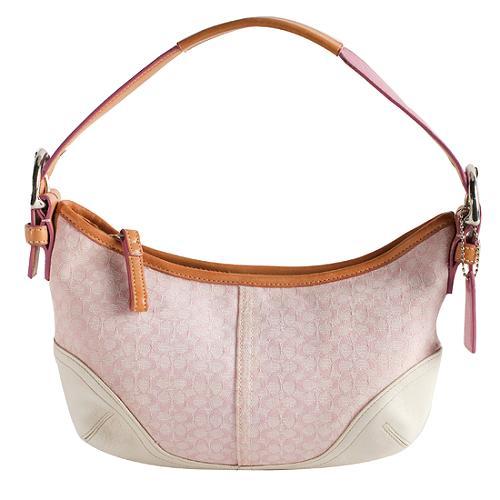 Coach Soho Mini Signature Hobo Handbag