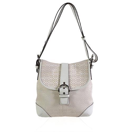 Coach Soho Mini Signature Large Duffel Handbag