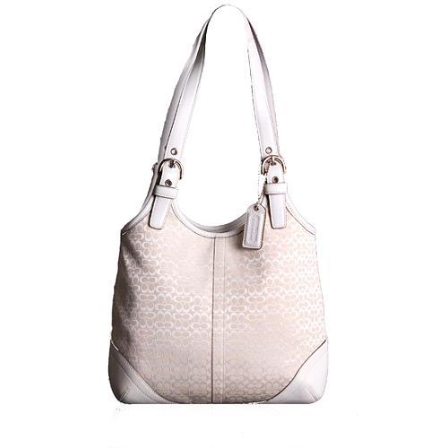 Coach Soho Mini Signature Shoulder Handbag