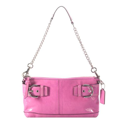 Coach Soho Patent Leather Chain Clutch