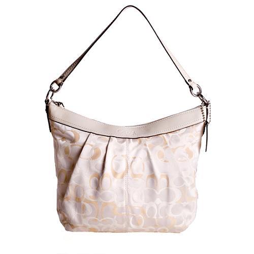 Coach Soho Pleated Convertible Shoulder Handbag