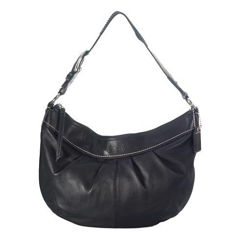 Coach Soho Pleated Leather Hobo Handbag