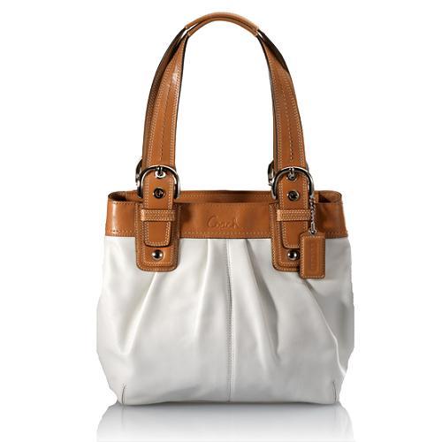 Coach Soho Pleated Leather Satchel Handbag