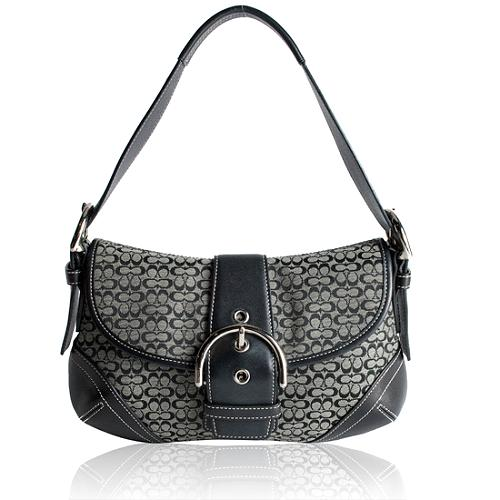 Coach Soho Signature Flap Shoulder Handbag