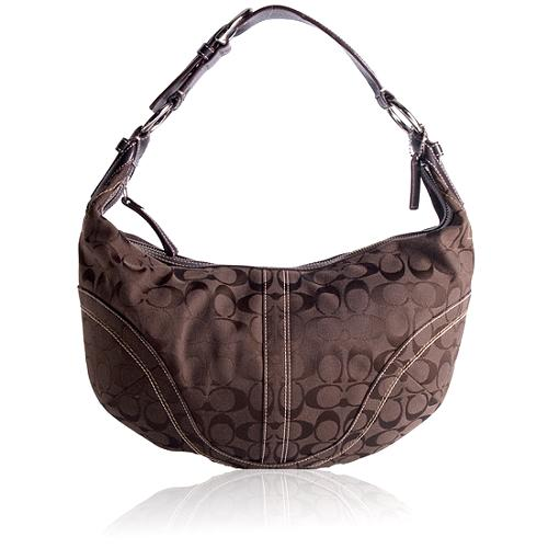 Coach Soho Signature Hobo Handbag