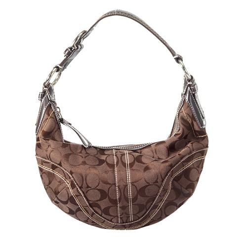 Coach Soho Signature Large Hobo Handbag