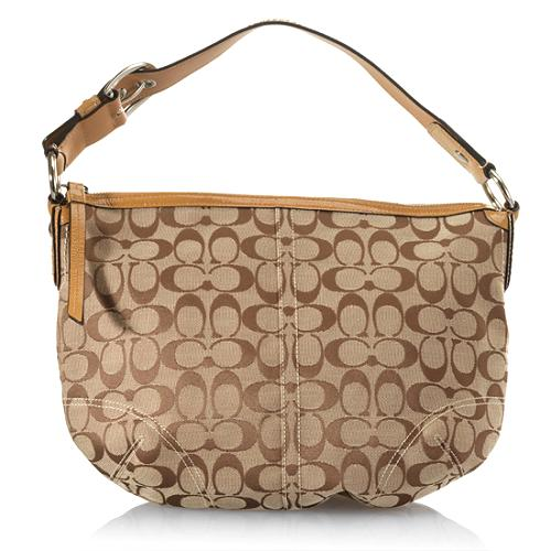 Coach Soho Signature Medium Hobo Handbag