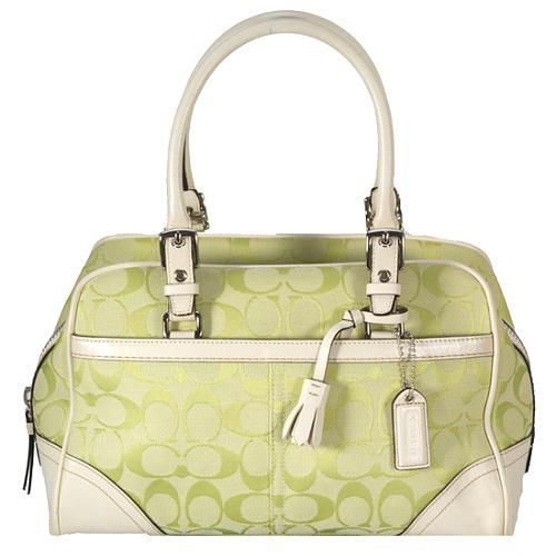 Coach Soho Signature Satchel Handbag