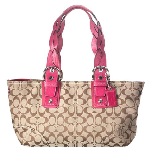 Coach Soho Signature Zip Top Tote