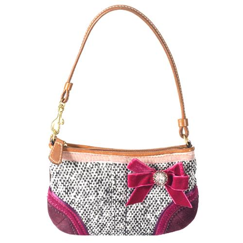 Coach Soho Tweed Shoulder Handbag