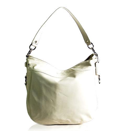 Coach Zoe Large Leather Hobo Handbag