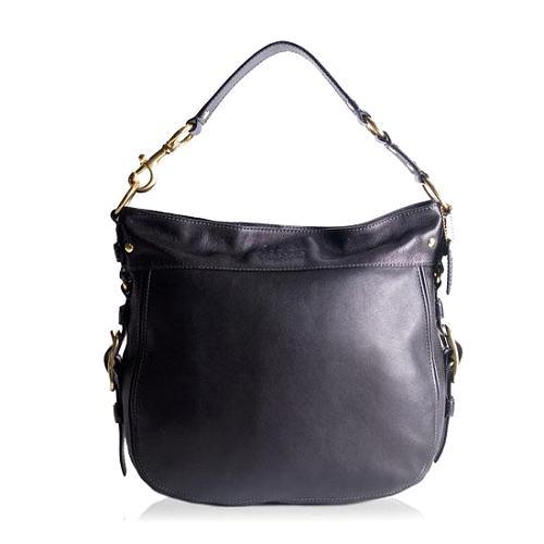 Coach Zoe Large Leather Shoulder Handbag
