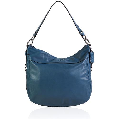 Coach Zoe Leather Convertible Large Hobo Handbag