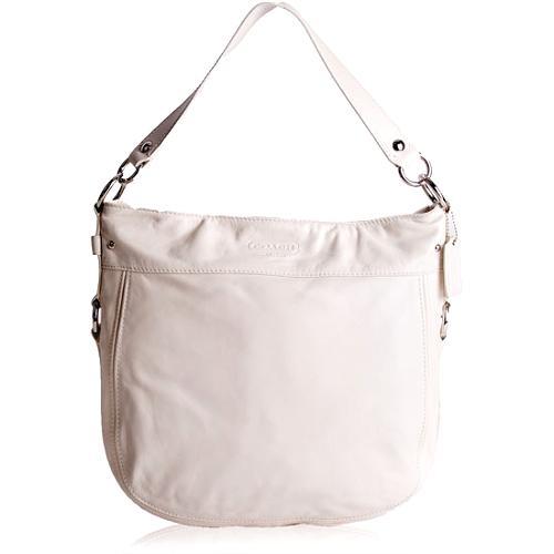 Coach Zoe Leather Hobo Handbag