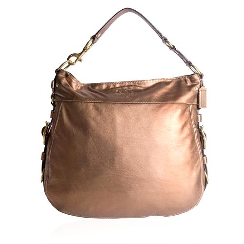 Coach Zoe Leather Hobo Handbag