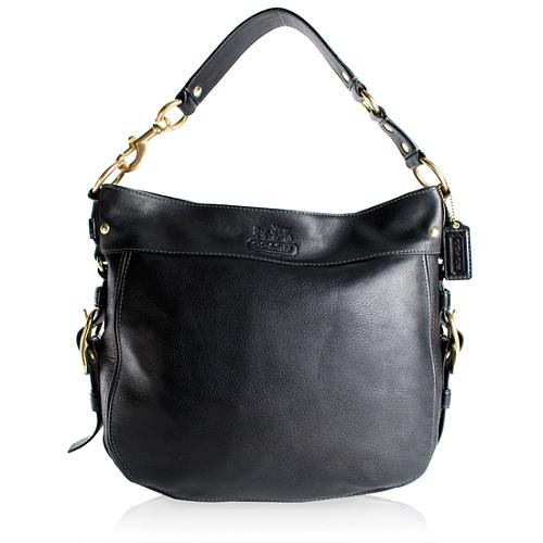 Coach Zoe Leather Large Hobo Handbag
