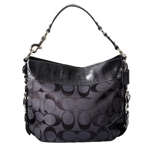 Coach Zoe Signature Large Hobo Handbag