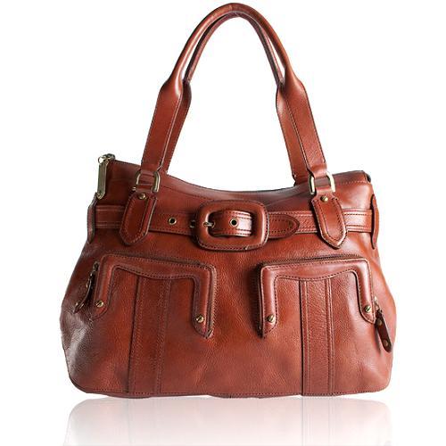Cole Haan Aerin Zip Satchel Handbag