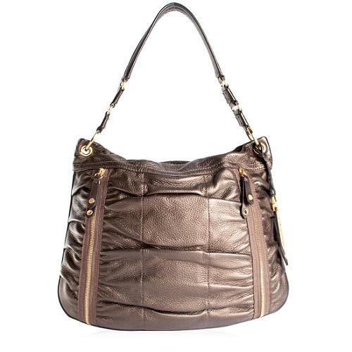 Cole Haan Bailey Triple Zip Satchel Handbag