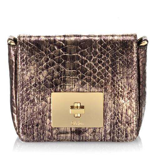 Cole Haan Capetown Snake Print Camille Crossbody Handbag