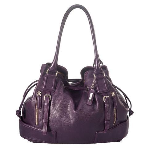 Cole Haan Double Zipper Hobo Handbag