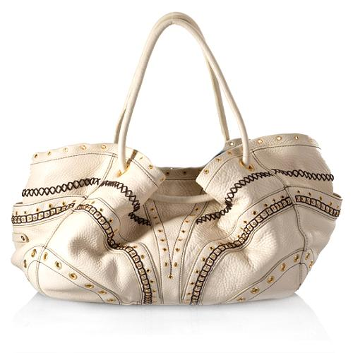 Cole Haan Embellished Drawsting Tote