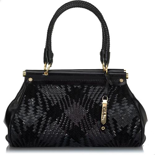 Cole Haan Genevieve Plaid Small Carpet Handbag